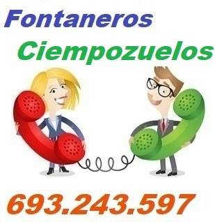 Telefono de la empresa fontaneros Ciempozuelos