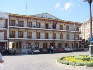 Ayuntamiento en la localidad de Ciempozuelos